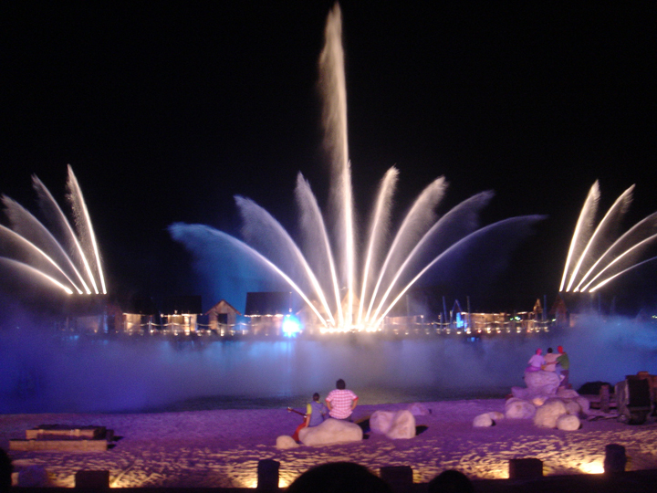 Sentosa new musical fountain show songs of the sea